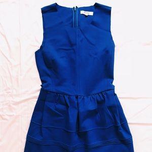 Madewell cobalt blue dress